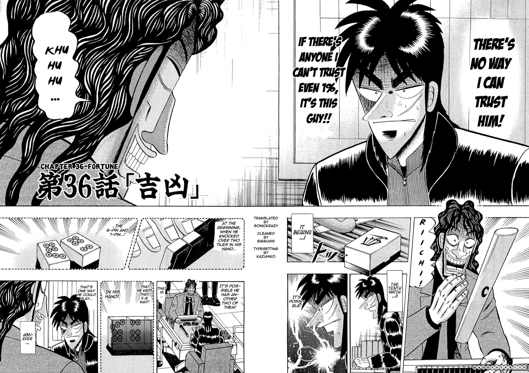 Tobaku Datenroku Kaiji 36 Page 2