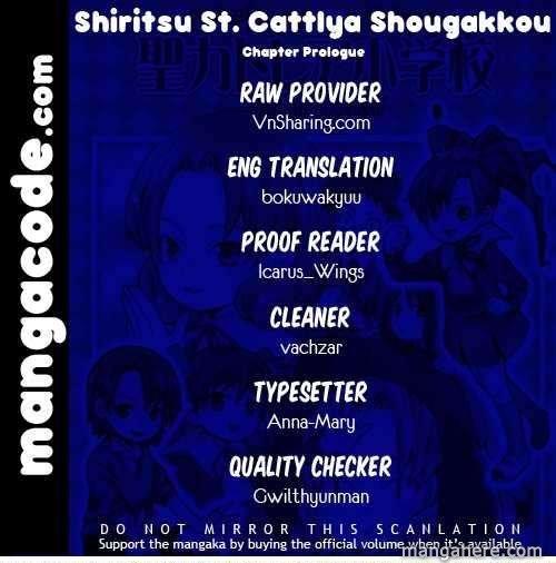 Shiritsu Sei Cattlya Shougakkou 1 Page 1