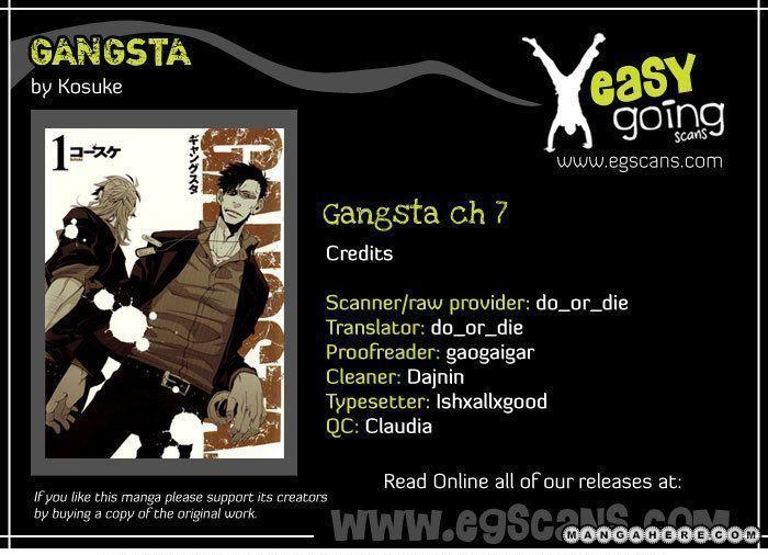 Gangsta 7 Page 1