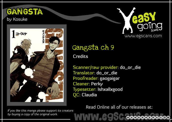 Gangsta 9 Page 1