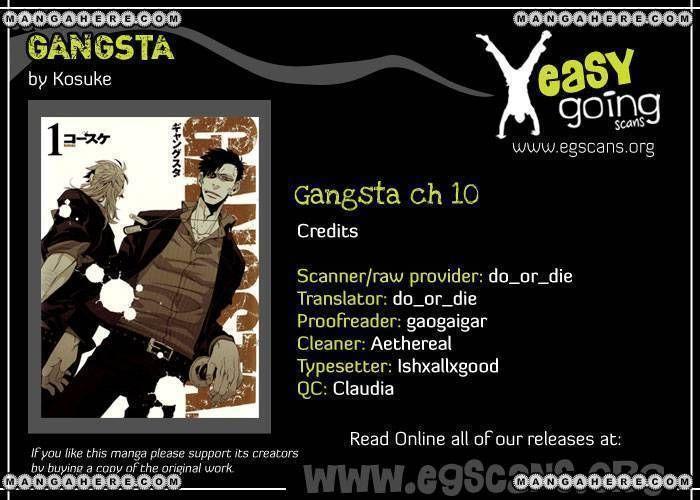 Gangsta 10 Page 1