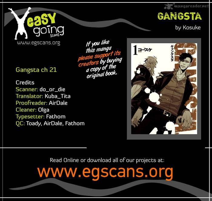 Gangsta 21 Page 1