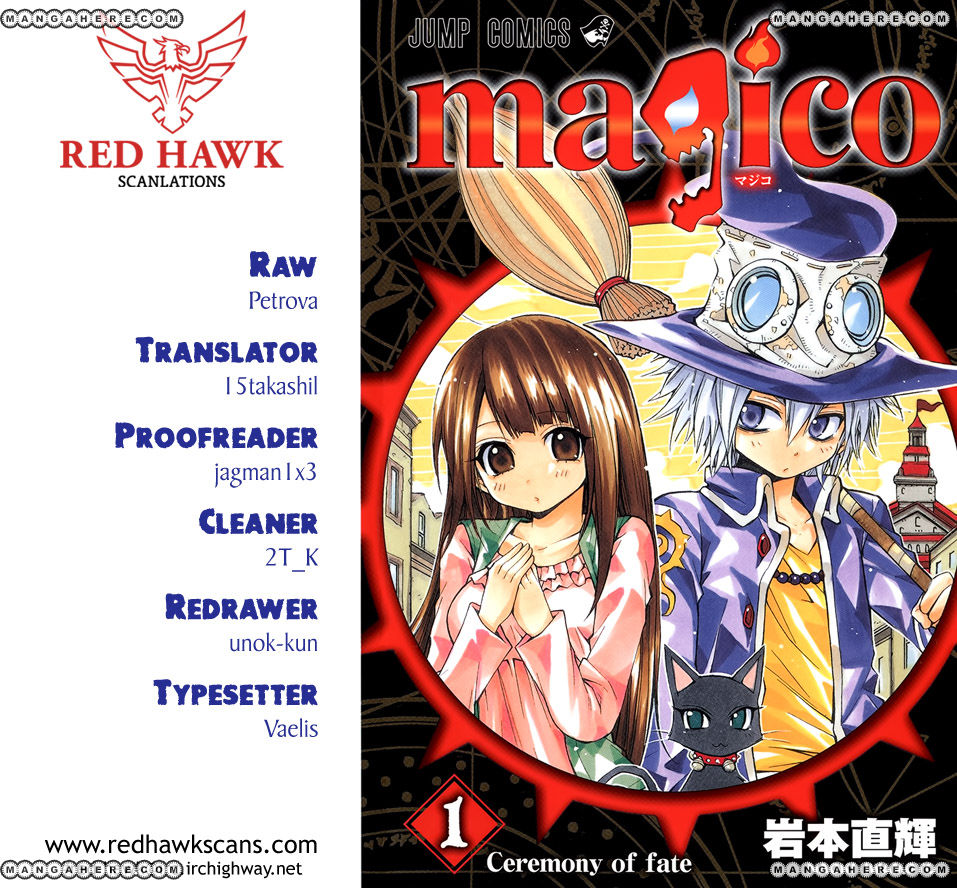 Magico (IWAMOTO Naoki) 56.5 Page 1