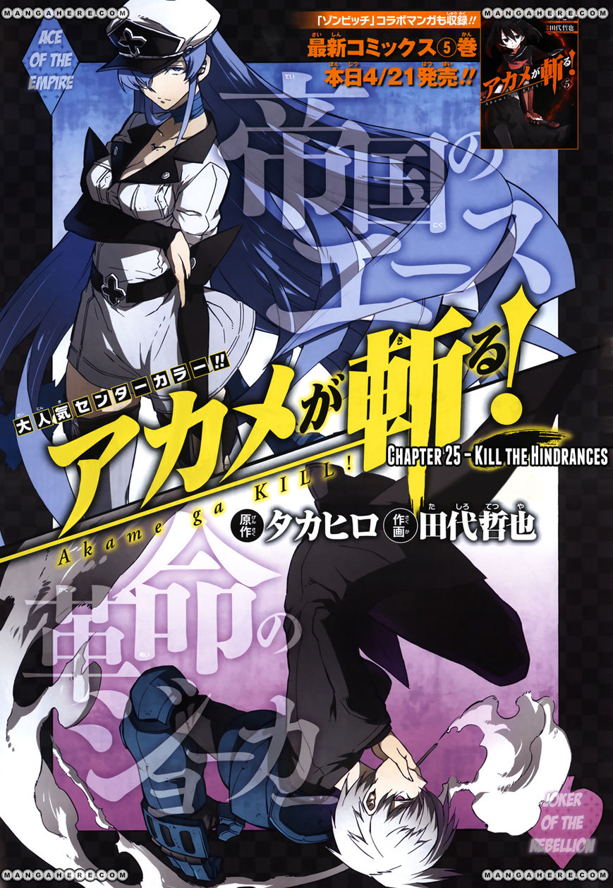 Akame ga Kiru! 25 Page 3