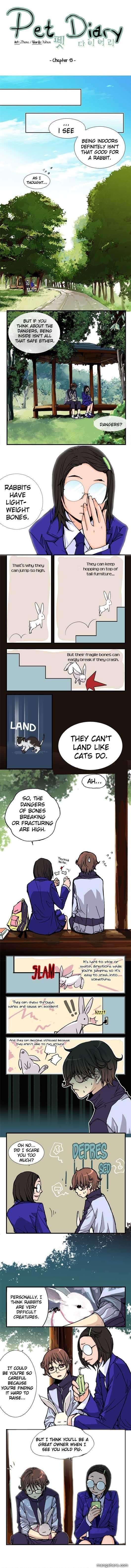 Pet Diary 13 Page 1