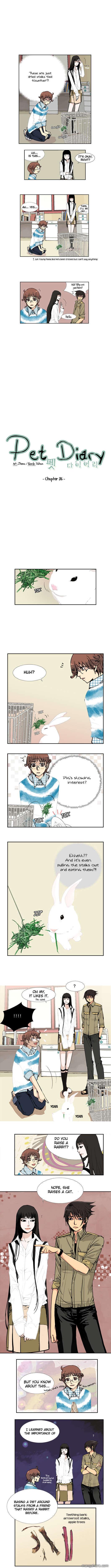 Pet Diary 26 Page 1