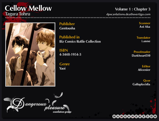 Cello Mellow 3 Page 2