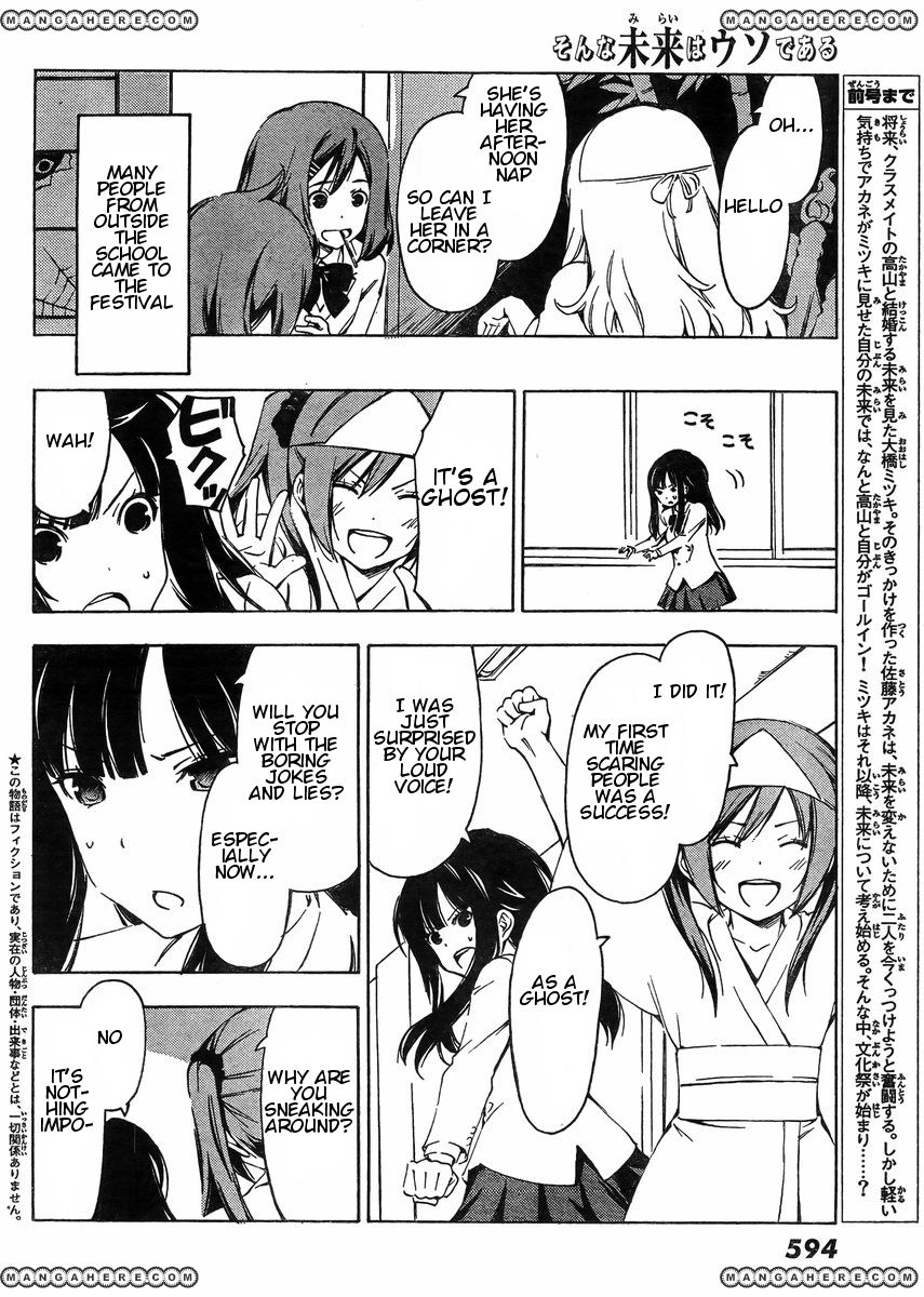 Sonna Mirai wa Uso de Aru 36 Page 2