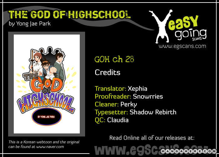 The God Of High School 28 Page 1