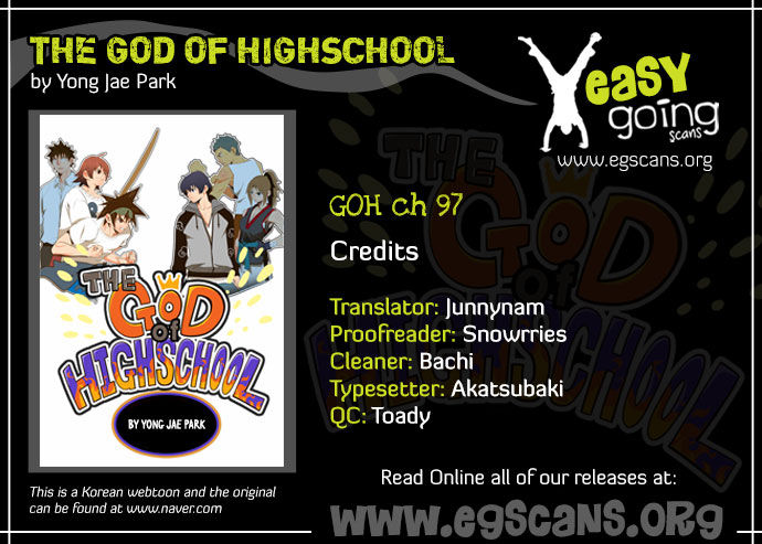 The God Of High School 97 Page 1