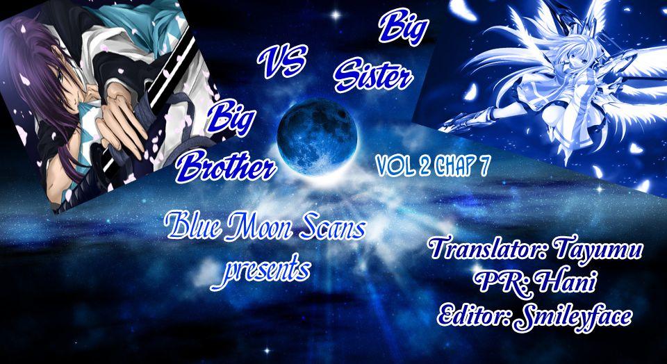 Big Sister Vs Big Brother 7 Page 1
