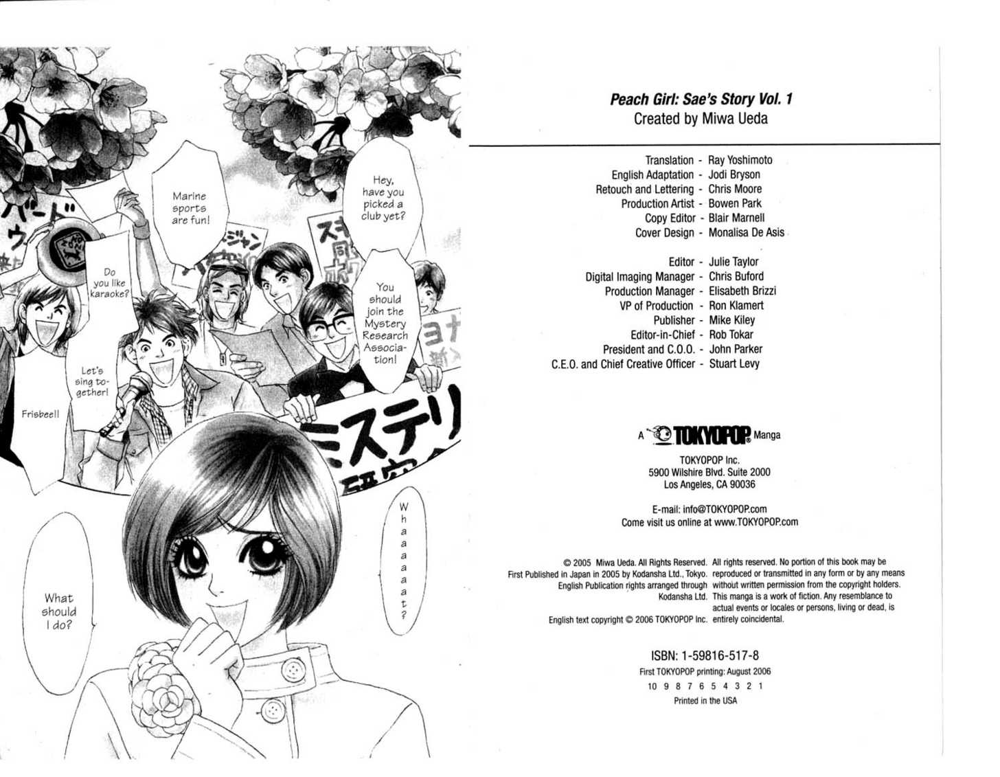 Peach Girl: Sae's Story 0 Page 2
