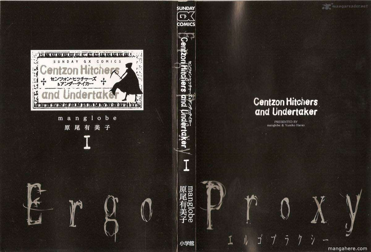 Ergo Proxy: Centzon Hitchers and Undertaker 1 Page 1