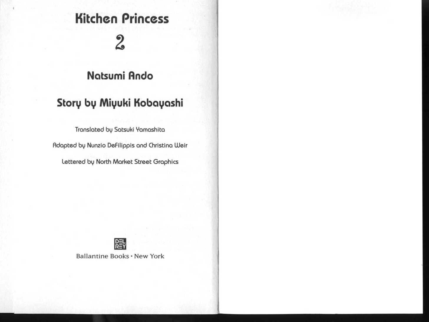 Kitchen Princess 0 Page 2