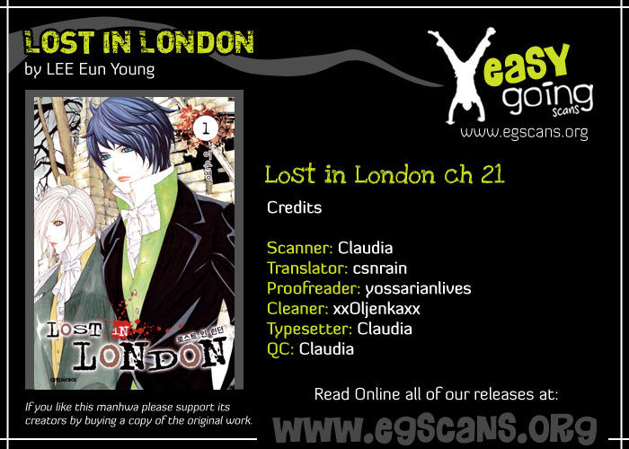 Lost In London 21 Page 1