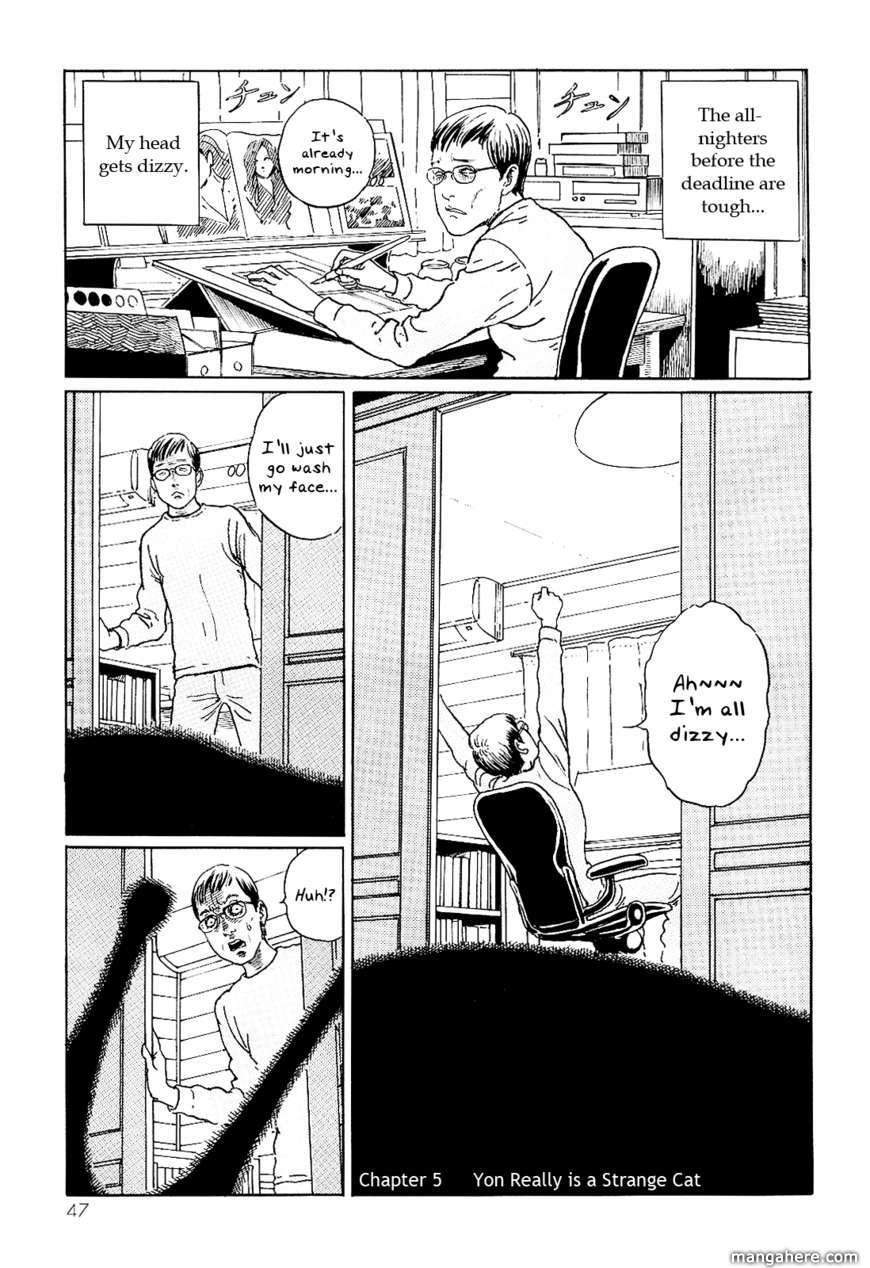 Itou Junji No Neko Nikki: Yon & Mu 5 Page 1