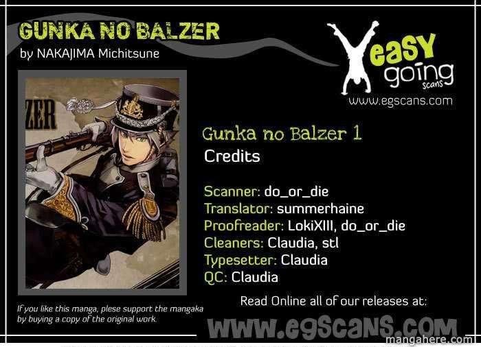 Gunka No Baltzar 1 Page 1