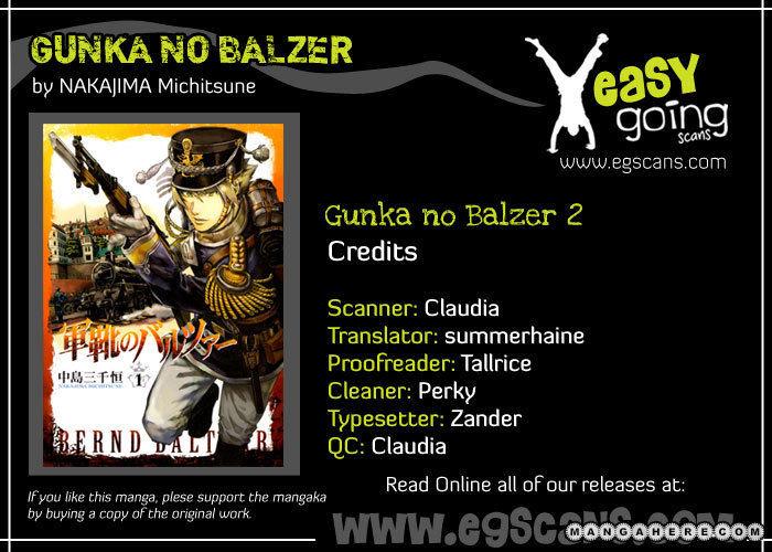 Gunka No Baltzar 3 Page 1