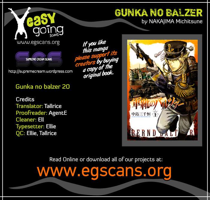 Gunka No Baltzar 20 Page 1