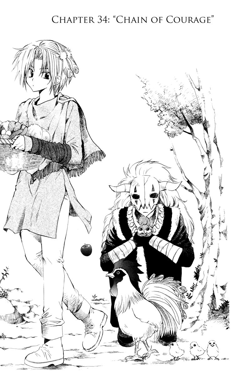 Akatsuki No Yona 34 Page 1