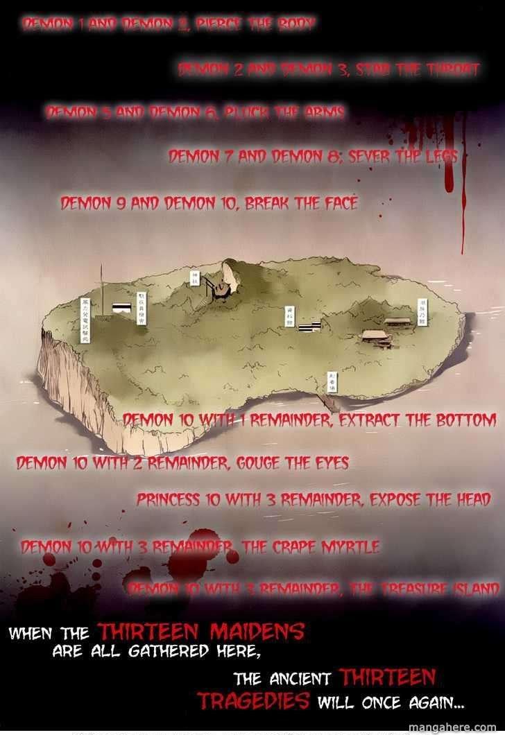 Bloody Maiden: Juusanki No Shima 1 Page 2
