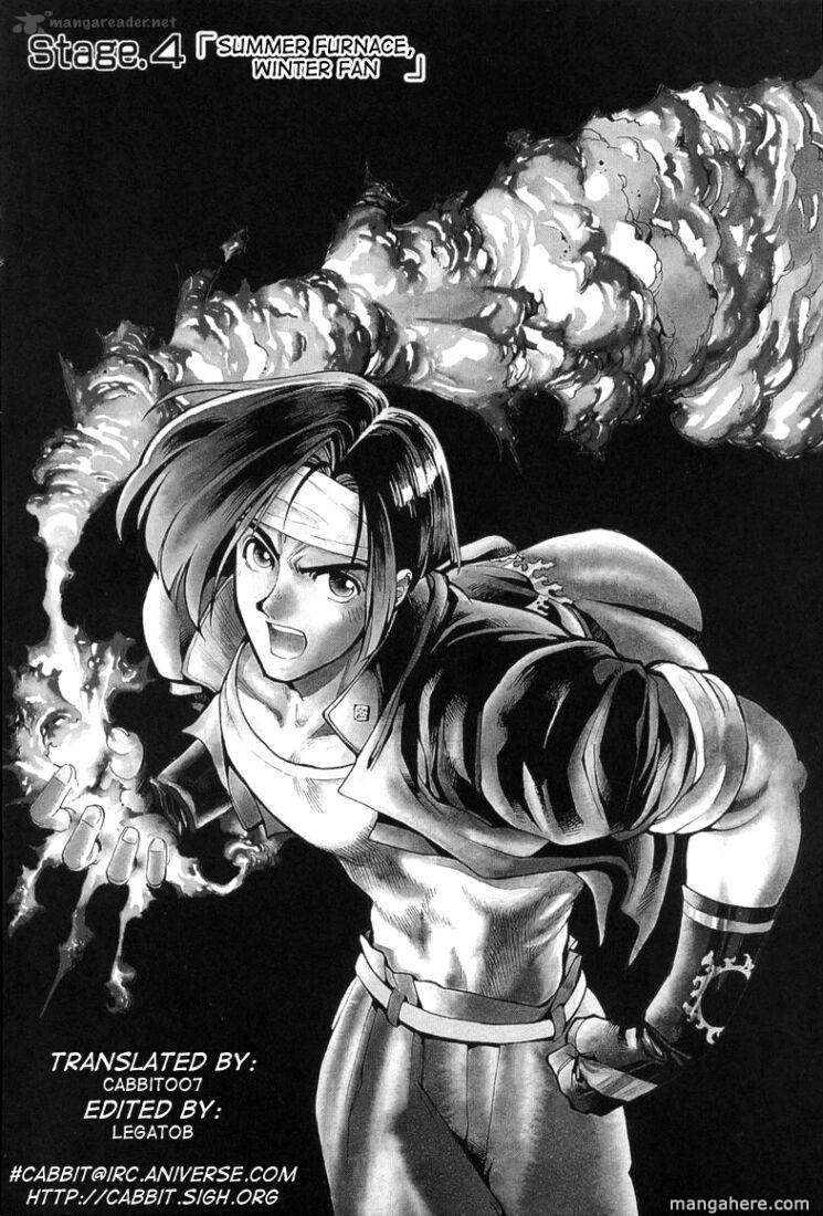 The King Of Fighters: Kyo 4 Page 1