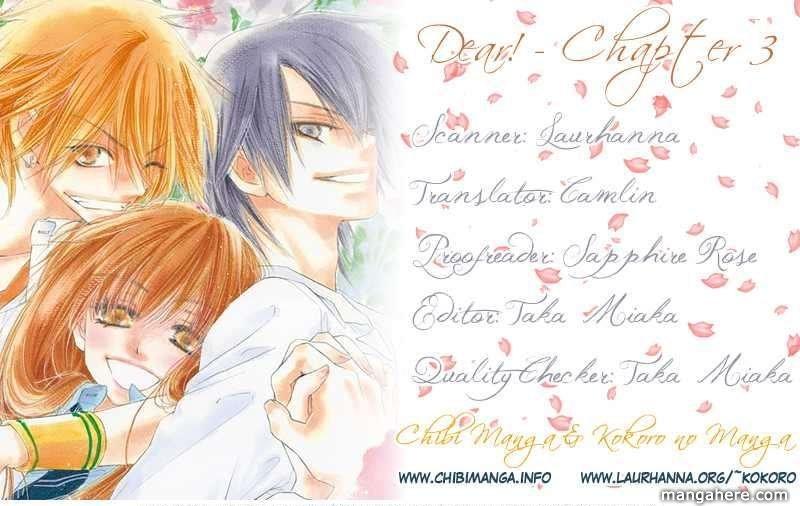Dear! (Mitsuki Kako) 3 Page 1