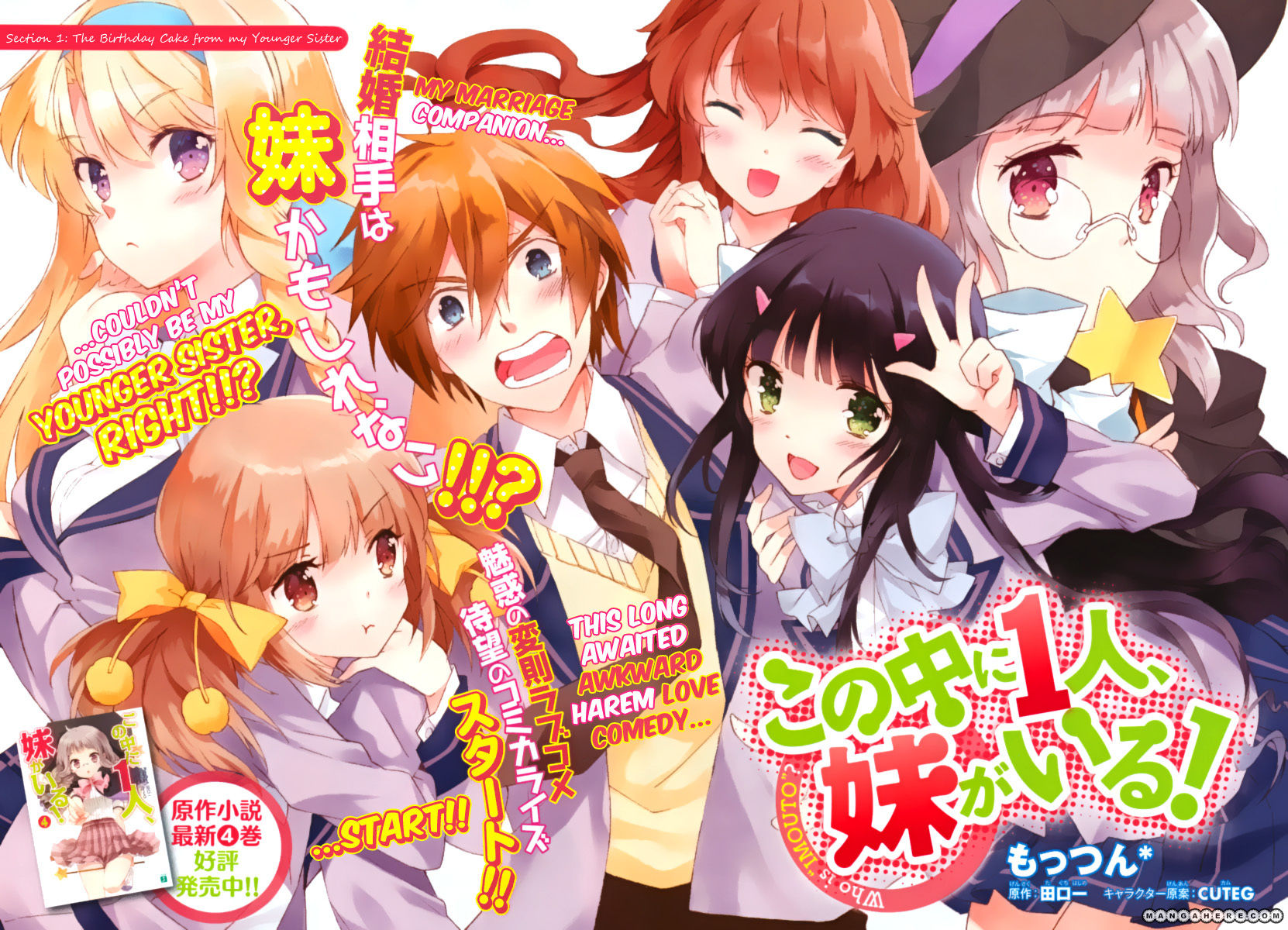 Kono Naka ni Hitori, Imouto ga Iru! 1.1 Page 2