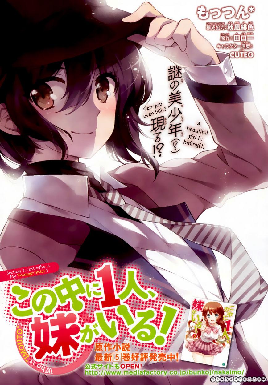 Kono Naka ni Hitori, Imouto ga Iru! 3 Page 2