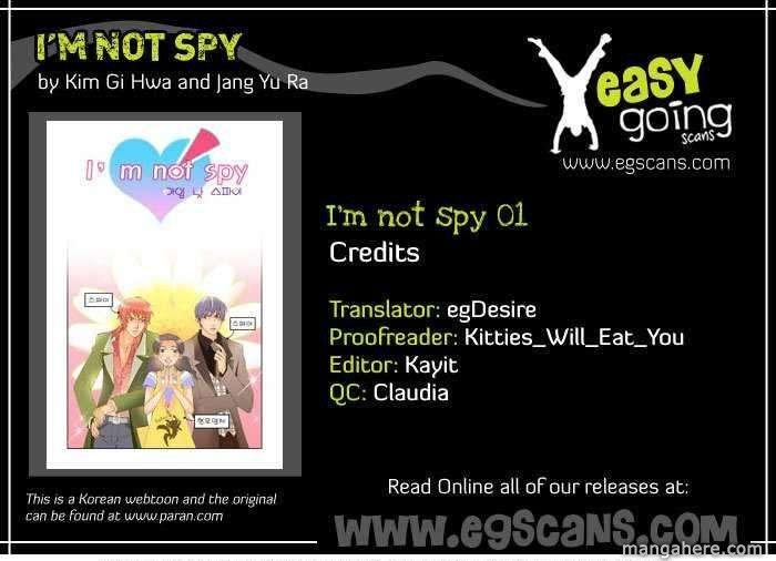 I'm not Spy 1 Page 1