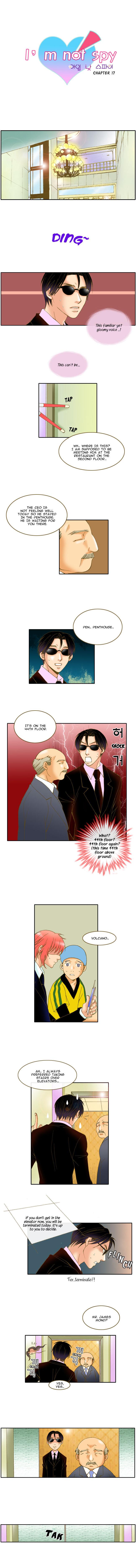 I'm not Spy 17 Page 1