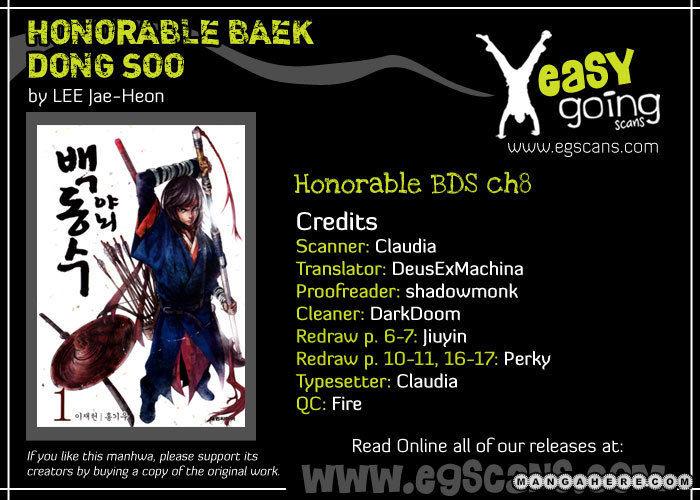 Honorable Baek Dong Soo 8 Page 2