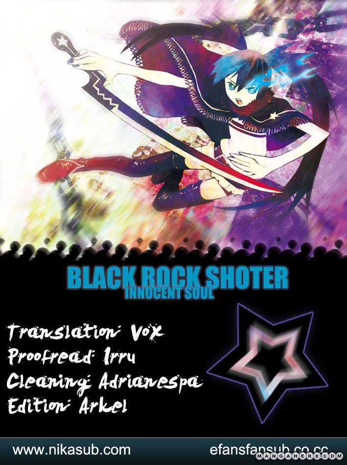Black Rock Shooter - Innocent Soul 4 Page 1
