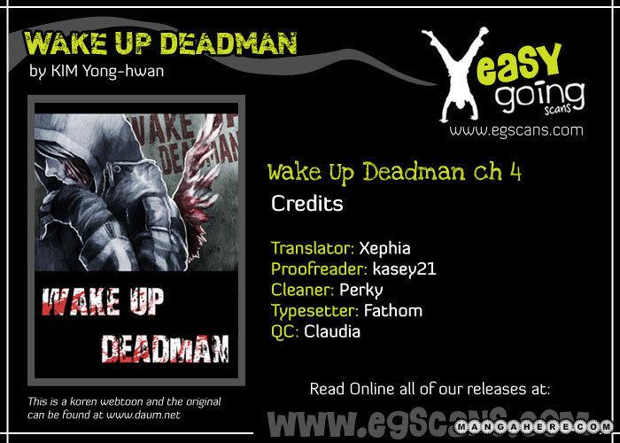 Wake Up Deadman 4 Page 1