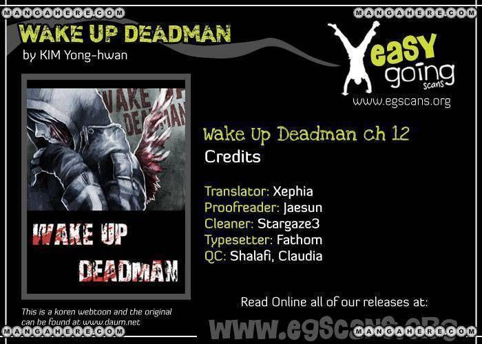 Wake Up Deadman 12 Page 1