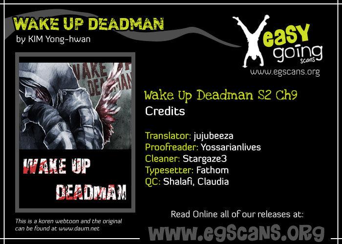 Wake Up Deadman 37 Page 1