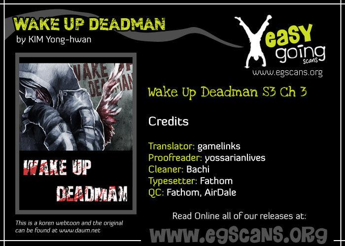 Wake Up Deadman 60 Page 1
