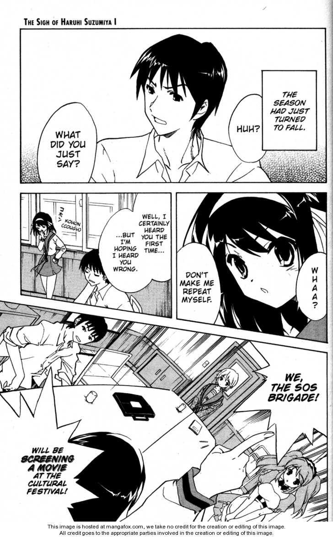 The Melancholy of Haruhi Suzumiya 24 Page 1