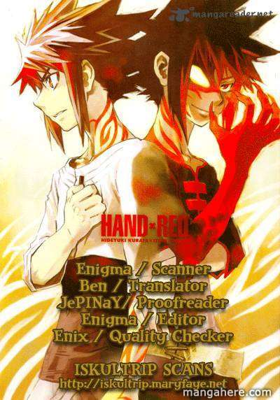 Hand X Red 19 Page 1