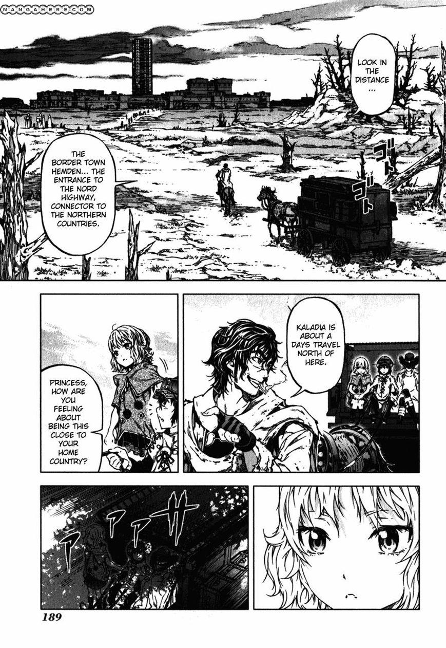 Kiba No Tabishounin The Arms Peddler 40 Page 2
