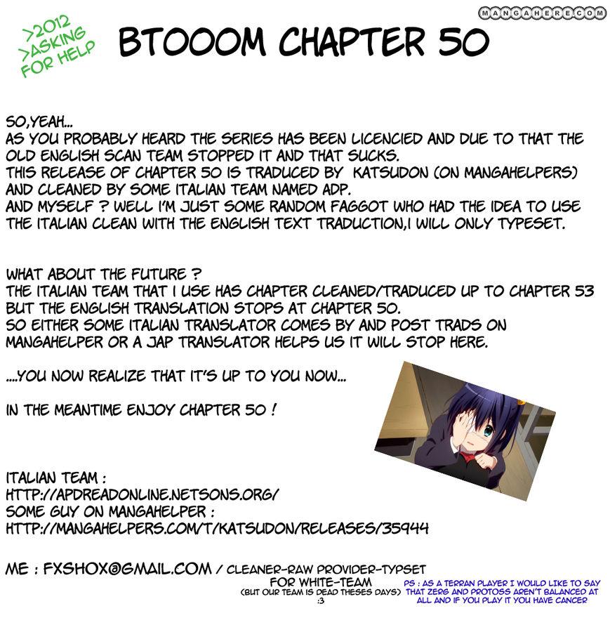 Btooom! 50 Page 1
