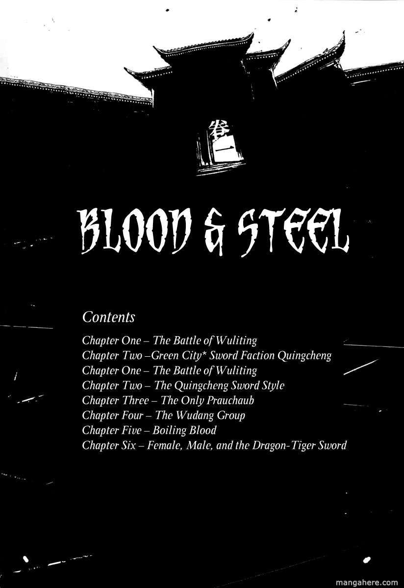 Blood and Steel 1 Page 5