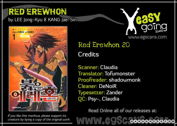 Red Erewhon 20 Page 1