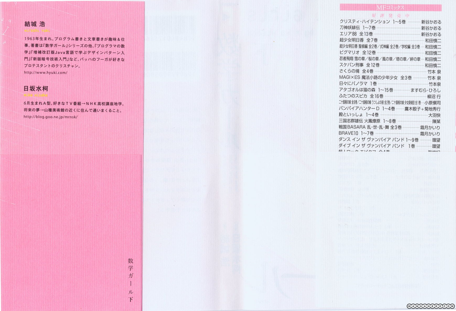 Suugaku Girl 8 Page 2