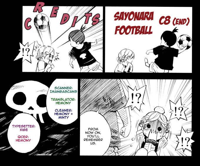 Sayonara Football 8 Page 1