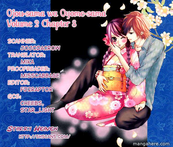Ojousama Wa Oyomesama 8 Page 2
