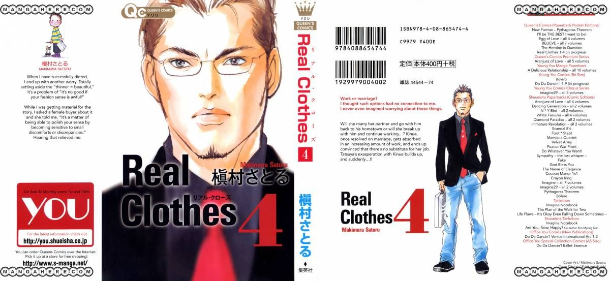 Real Clothes 22 Page 2