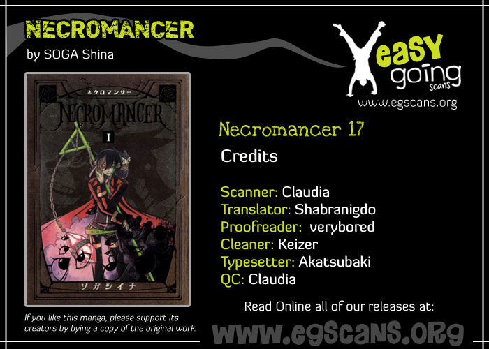 Necromancer 17 Page 1