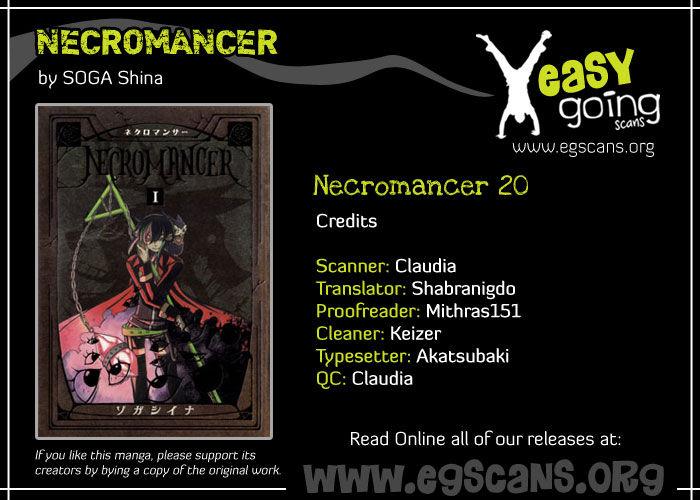 Necromancer 20 Page 1