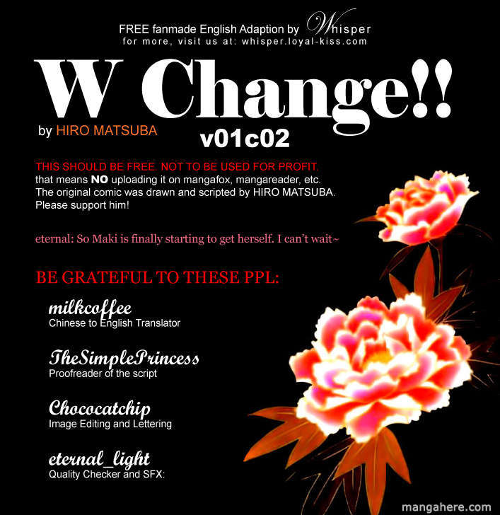 W Change 2 Page 1